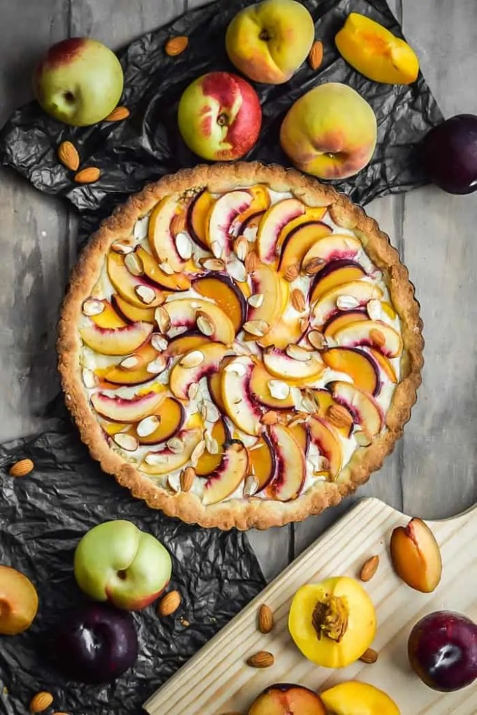 Almond and Stone Fruit TartAlmond and Stone Fruit Tart
