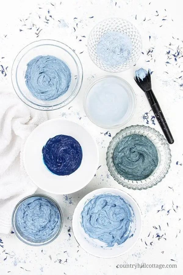 DIY Blue Clay Mask