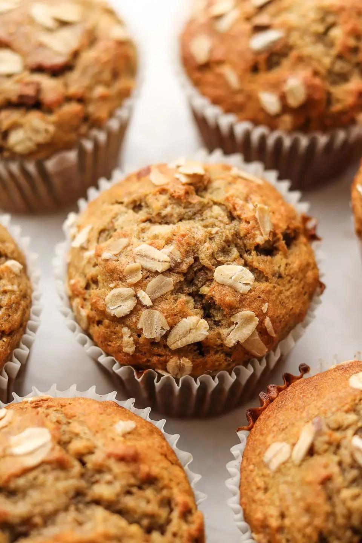 Vegan Banana Blender Muffins