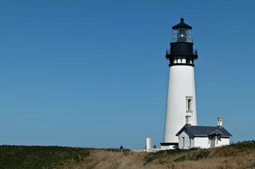 Dickinson Aglow Lighthouse