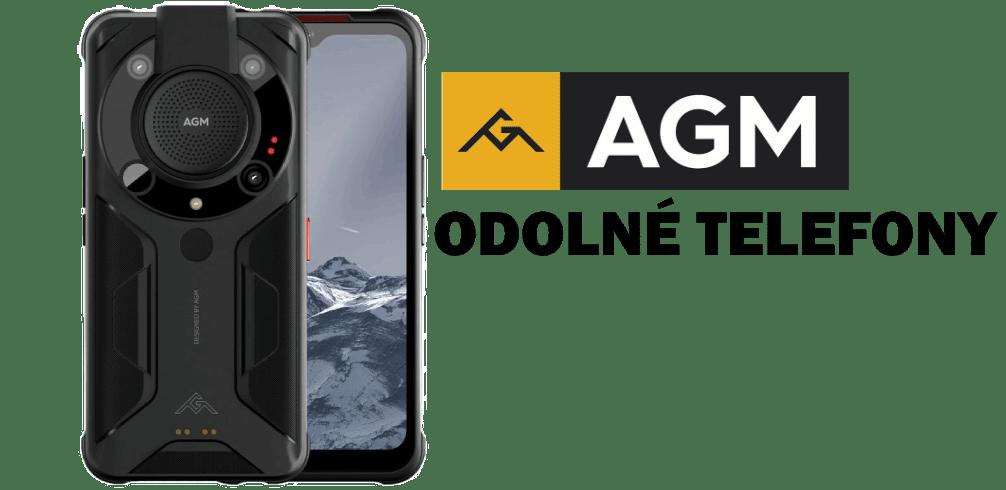 AGM odolné telefony
