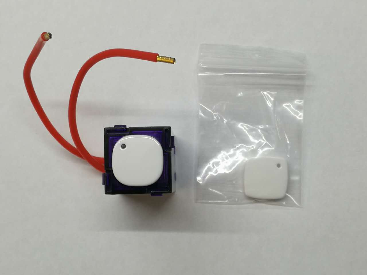 Push Button Led Universal Dimmer With Integrated Switch