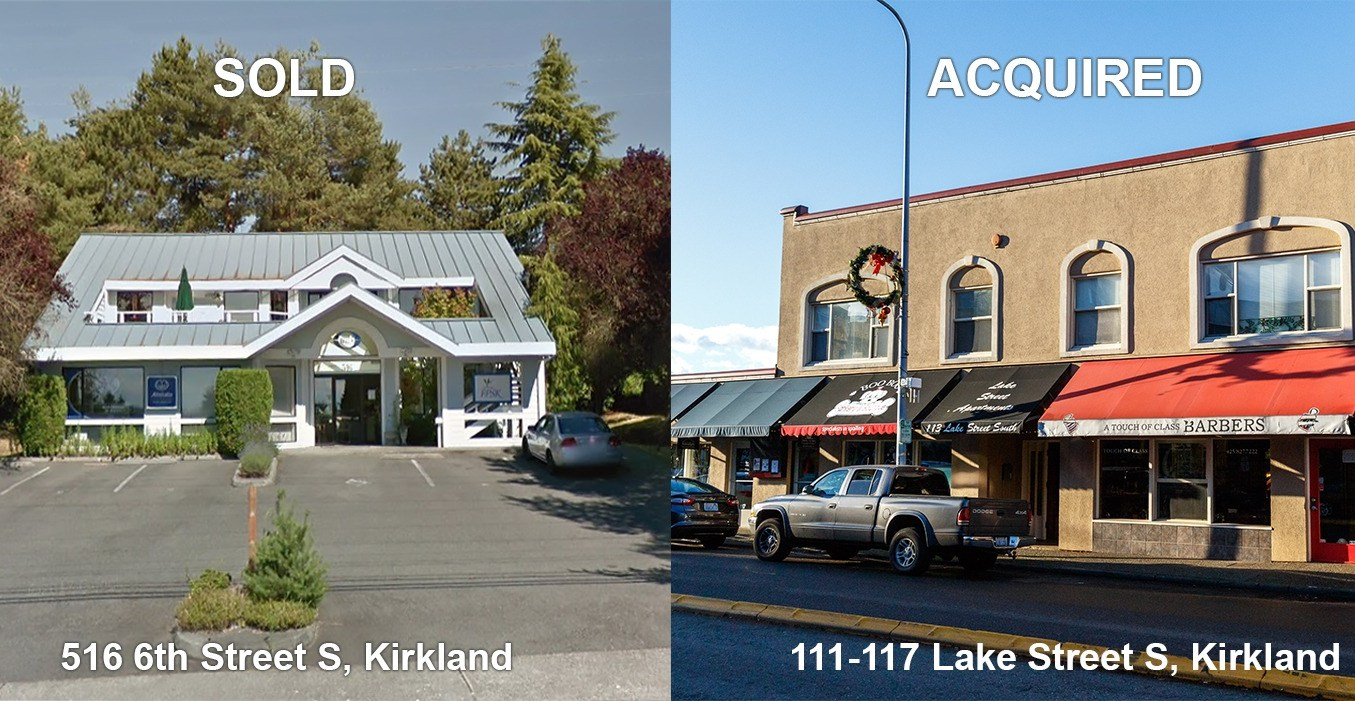 Sale Announcement: 1031 Exchange Kirkland