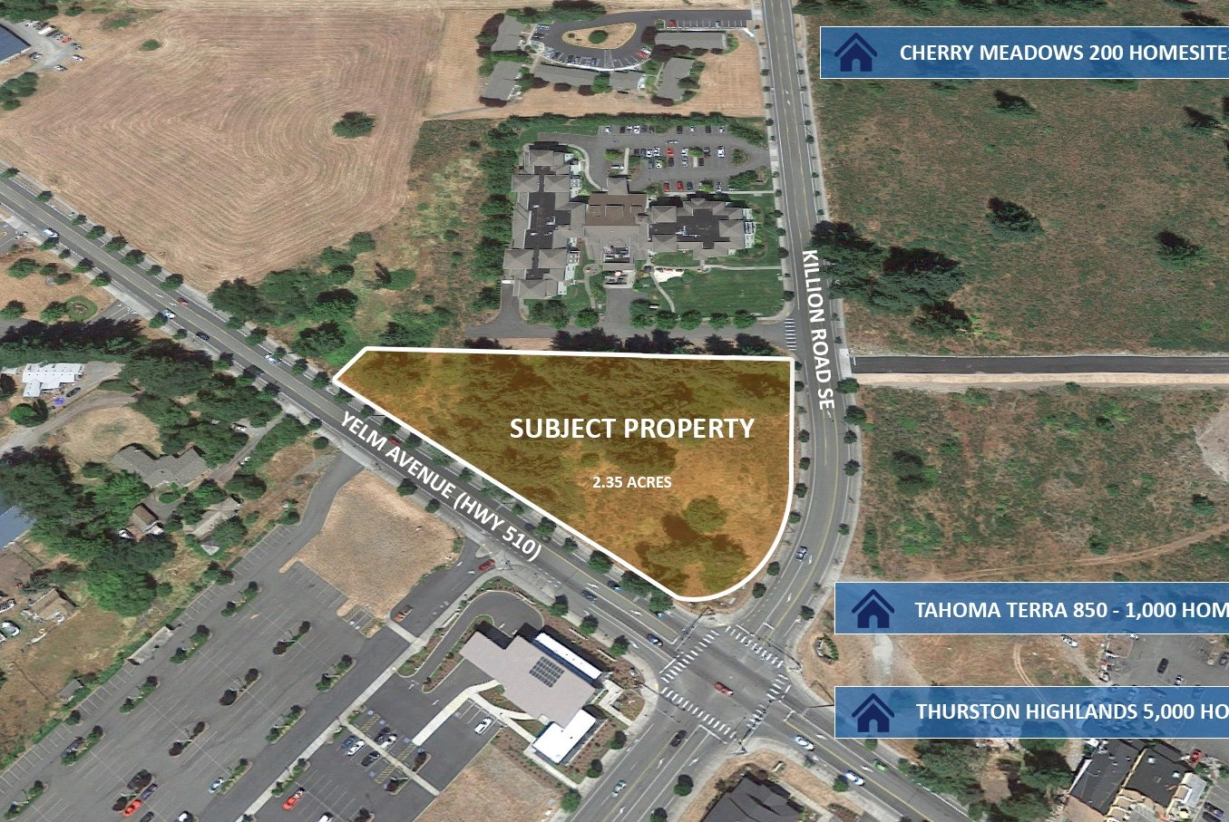 New Listing: Killion Crossing 2.35 Acre Development Site