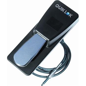 QUIK LOK PSP125 PEDALE SUSTAIN  Interruttore momentaneo: contatto normalmente aperto, chiuso con selettore
