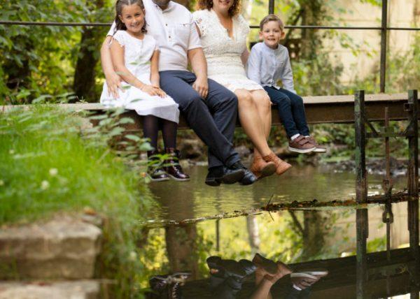 Séance photo famille en extérieur seine et marne