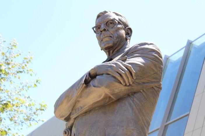 John Wooden Statue, UCLA Campus