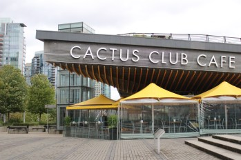 Cactus Club Cafe in Downtown Vancouver