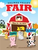 salinas county fair poster