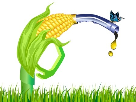 renewable fuel biofuel corn stalk ethanol gas pump