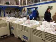 Turkey donations at the Sacramento Food Bank. (Photo courtesy of CDFA)