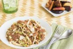 Corned beef and cabbage, a traditional meal