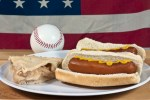 Baseball, hot dogs, apple pie, and the american flag