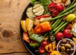 bounty-of-colorful-grilled-vegetables-and-olives meatless