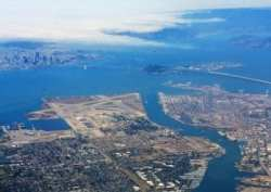 San Francisco Bay-area-aerial-view