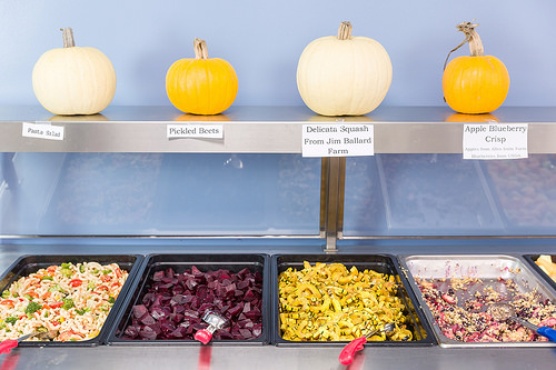 The local foods offered through farm to school programs help school meal programs fulfill the updated nutrition standards with appealing and diverse offerings.