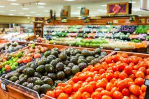 organic produce sales