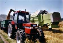"""Case IH with """"Follow Me"""" technology"""