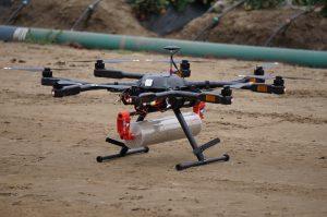 Drone Boosts Natural Defenses