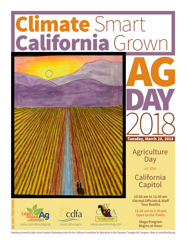 California Agriculture Day Celebration at the State Capitol