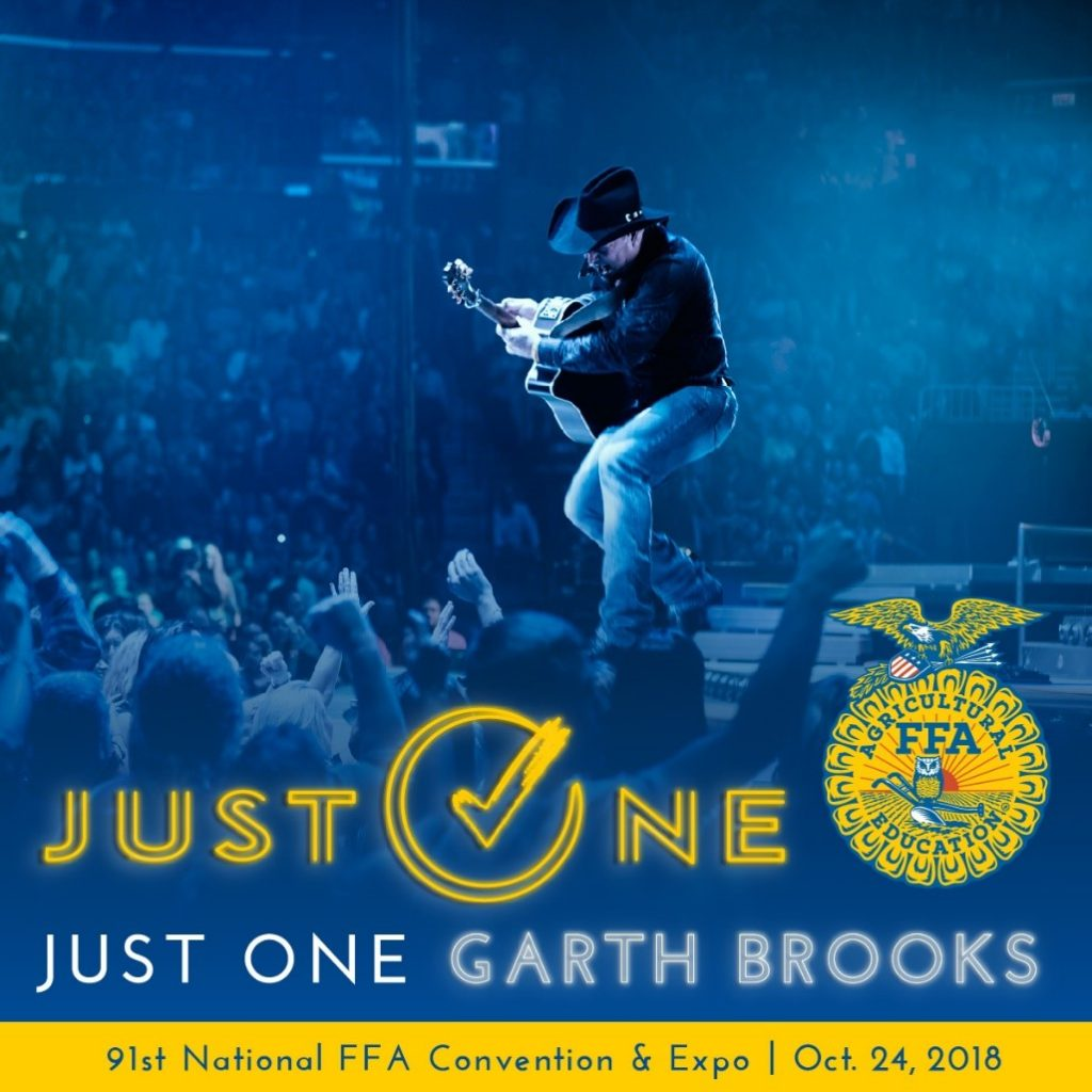 Garth Brooks Announces Private Concert for the National FFA Organization