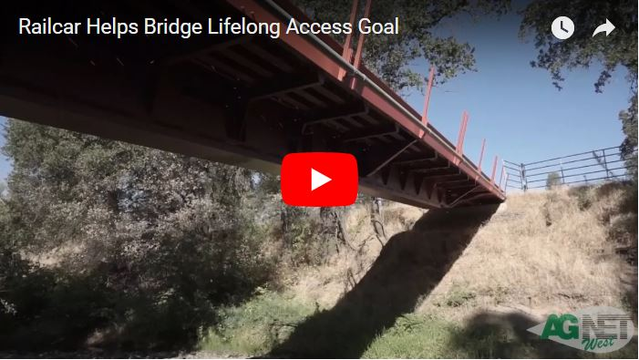 Railcar Helps Bridge Lifelong Access Goal