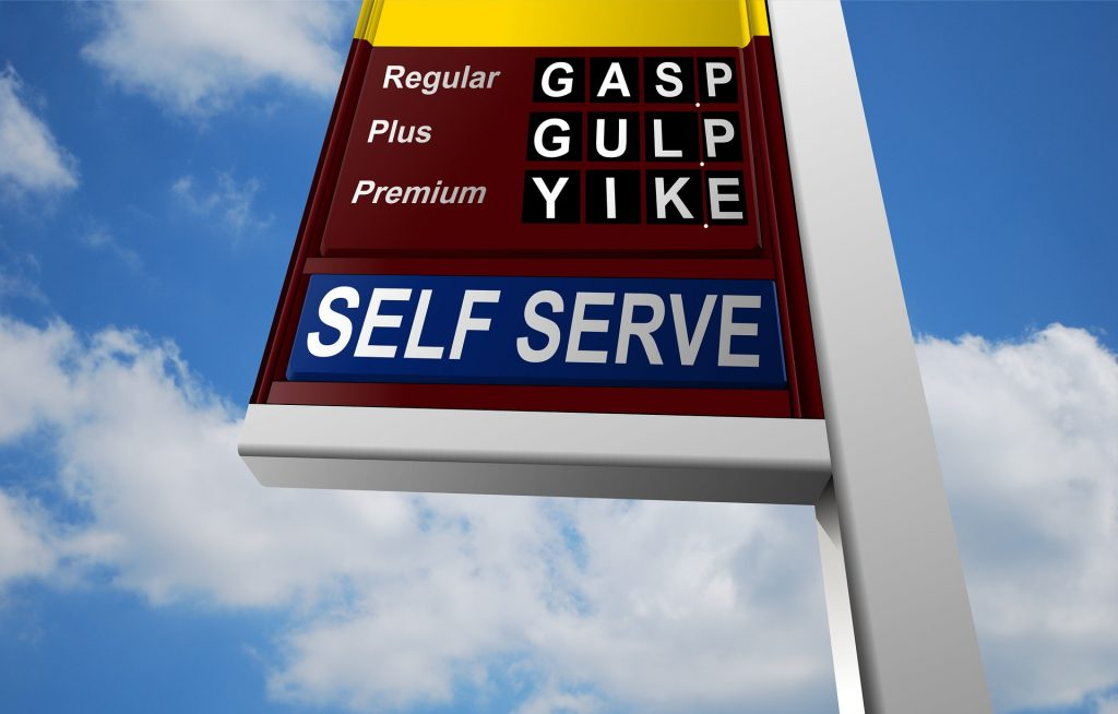 Gasoline's average price falls below $2 a gallon