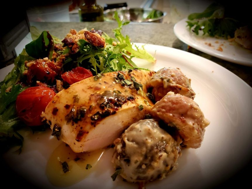 The California Kitchen: Pan & Oven Roasted Chicken Breast