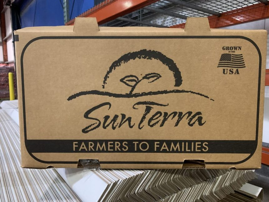 SunTerra Food Box for USDA's Farmers to Families Food Box program