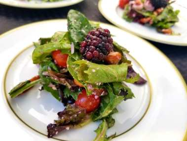 Raspberry Farmers Market Salad