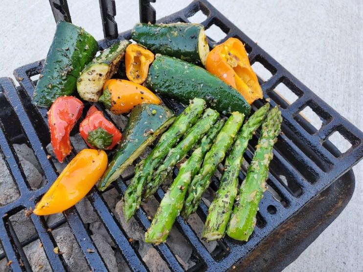 Grilled Vegetables 2020