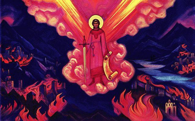 «Спасены будут, кто за Мною идёт, кто Наставлениям следует, кто верой непоколебимой наполнен, все-все, чьи сердца пылают Любовью и состраданием»