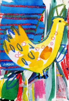 bird-collage-yellow