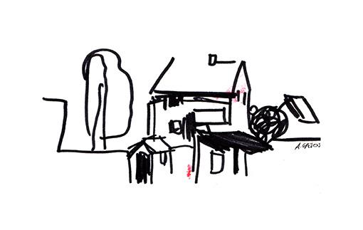 house-sketch-line