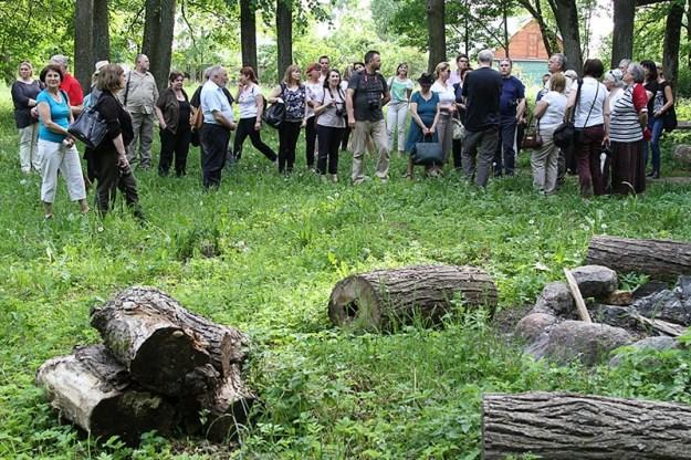w Mitrunach na Litwie, fot. M.Paluszkiewicz