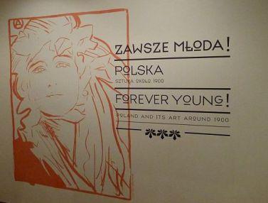 Krakow Muzeum Wyspianskiego wystawa Zawsze Mloda Polska