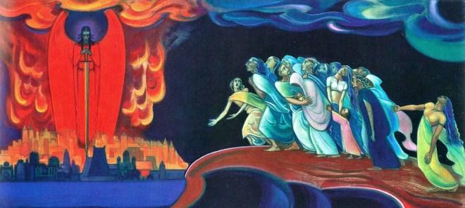 грядёт суд последний, суд у Огненной Черты перехода в Новый Мир жизни.