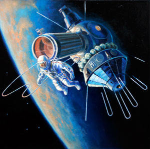 Алексей Архипович первым потрогал космос.Фото: с сайта www.corpoby.com