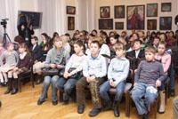 Открытие IV Всероссийской выставки-конкурса детских работ «Объединенные Космосом».
