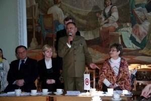 Выступает Посол Республики Индия в Республике Беларусь Рамеш Чандер