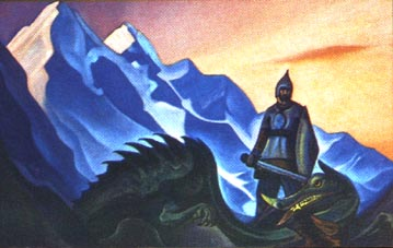 Н.К.Рерих. Победа