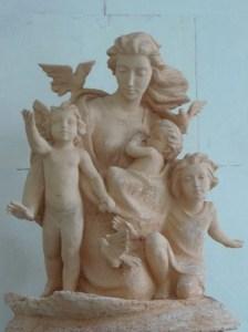 6 В Ливадийском дворце презентовали скульптуры киевского мастера
