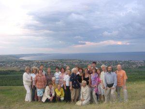Участники VI Международного общественно-научного форума «Как охраним живую ткань Культуры?» в Саратове