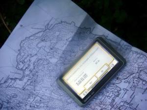 Данные финской карты и спутникового навигатора совпали! Экспедиция на месте затерянной в буйной растительности усадьбы (остров Тулолонсаари, 2009)