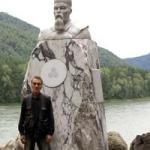 1 Памятник Н.К. Рериху к 135–летию со дня рождения