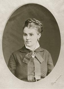 Е.В. Шапошникова, мать Е.И. Рерих