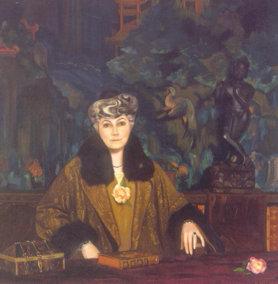 С.Н. Рерих Портрет Е.И. Рерих 1937 г.