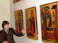 Встречу проводит искусствовед В.В.Горшкова
