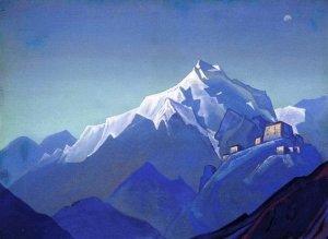 Н.К.Рерих. Гималаи.