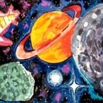 Конкурс рисунков, посвященных Космосу